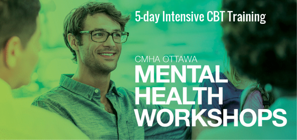 Special introductory pricing for our new week-long workshop on Cognitive Behaviour Therapy June 19-23 (English)