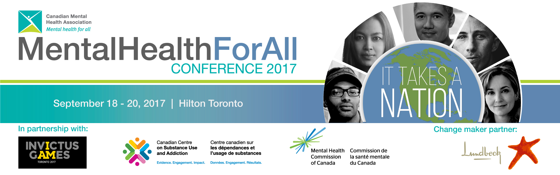 Plan to attend CMHA's Second Annual Mental Health for All Conference Sept. 18-20