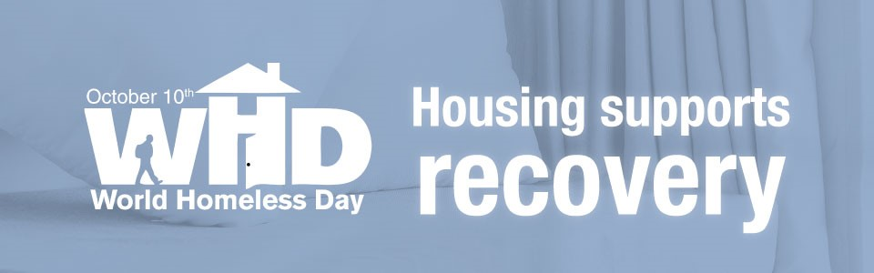 World Homeless Day highlights the importance of housing for health