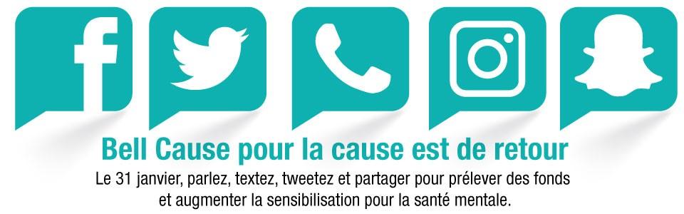 La Journée Bell Cause pour la cause un rappel du manquede services de santé mentale et de dépendance en Ontario