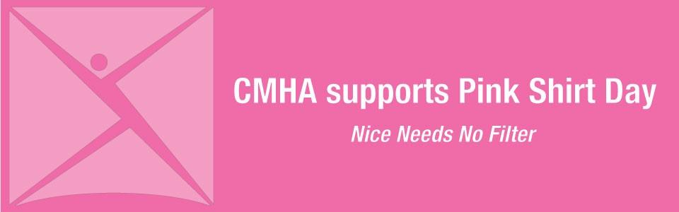 CMHA Ottawa celebrates Pink Shirt Day