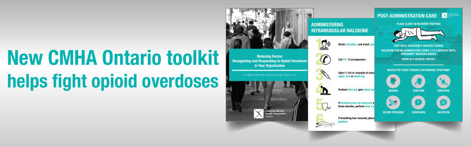 New toolkit in the fight against opioid overdoses is now available in French