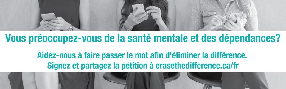 Le 7 juin, votez pour les soins de santé mentale et le traitement des dépendances