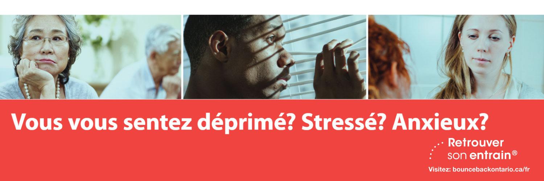 Programme provincial gratuit maintenant offert pour vous aider à gérer la dépression et l'anxiété