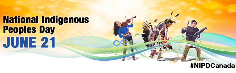 National Indigenous Peoples Day June 21 illustration