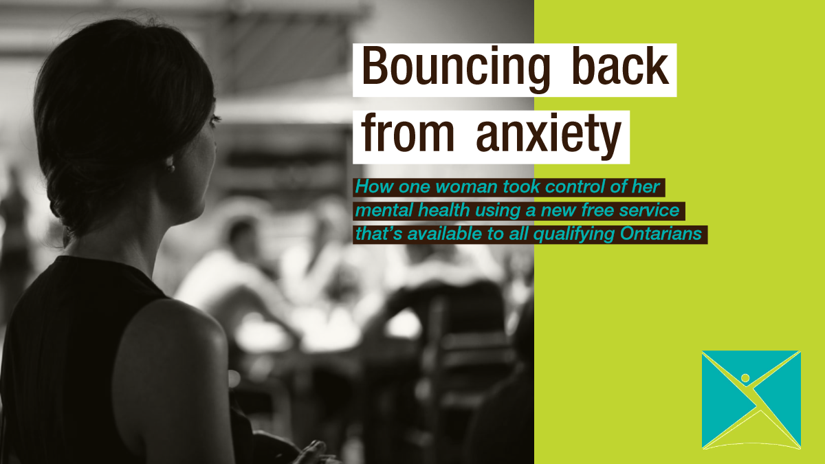 Bouncing back from anxiety