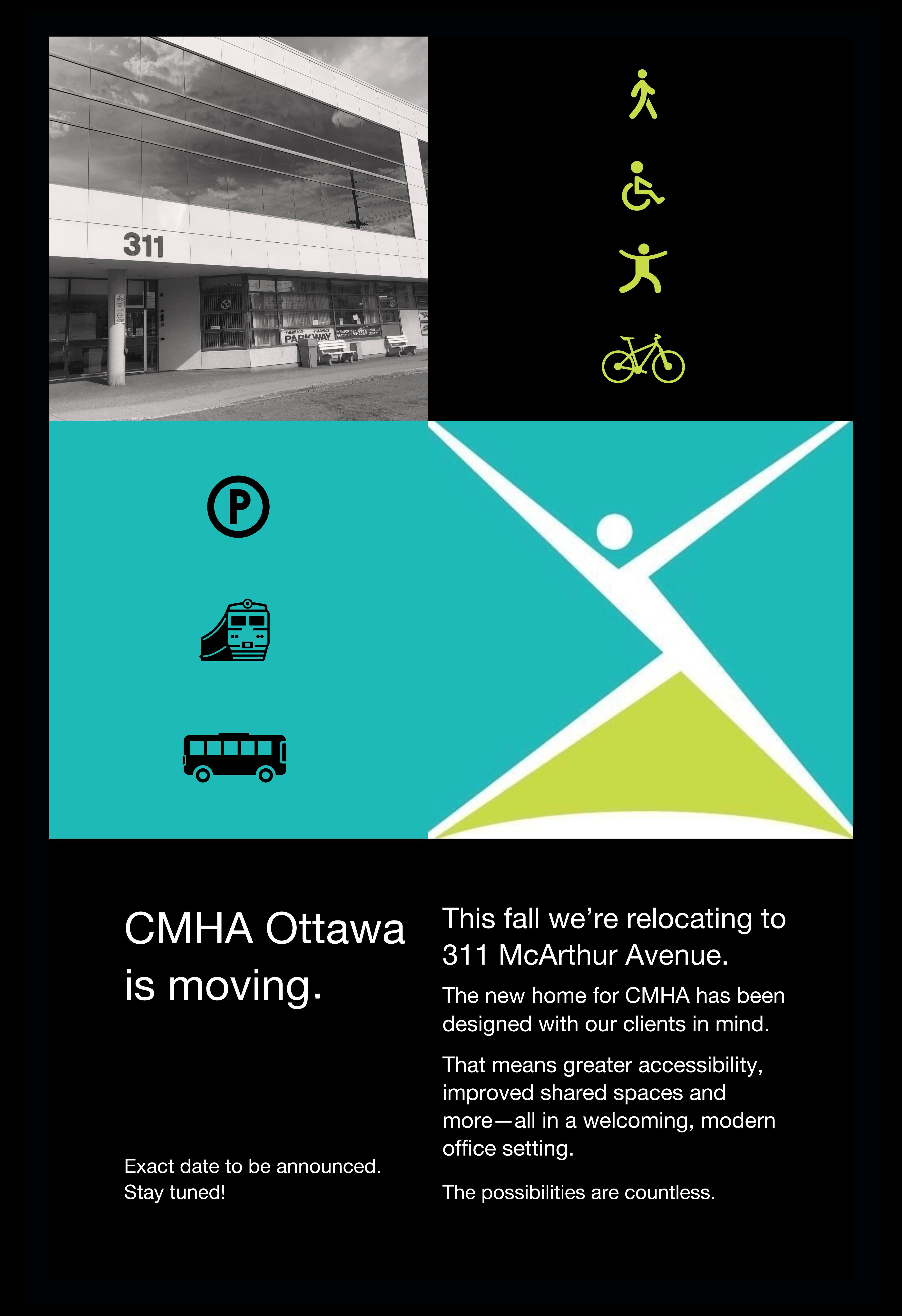 CMHA Ottawa is moving