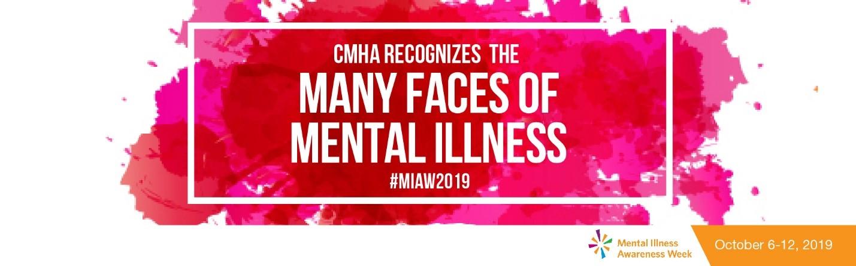 CMHA Ottawa recognizes the many faces of mental illness