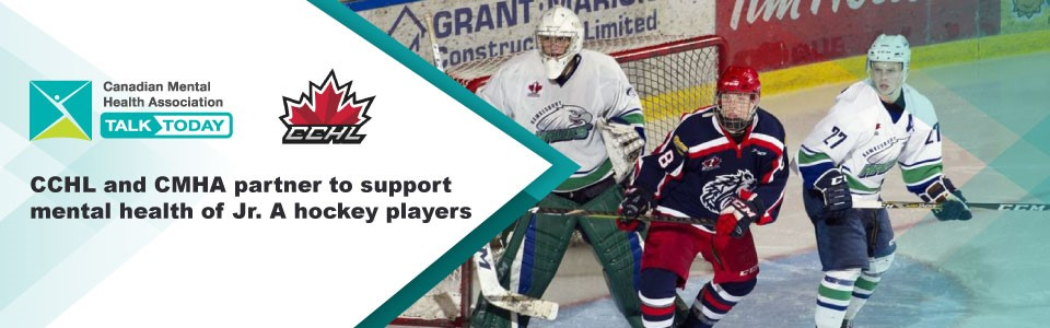 Central Canada Hockey League, local CMHAs partner to support mental health of Jr. A hockey players