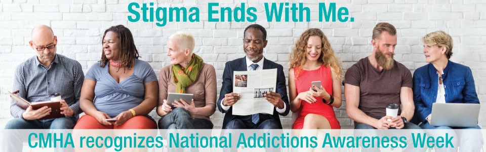 CMHA Ottawa recognizes National Addictions Awareness Week