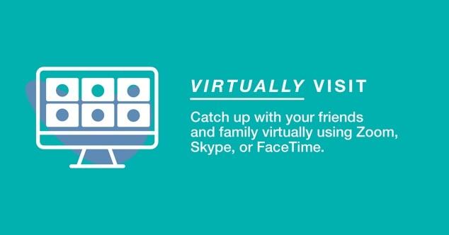 Virtually visit