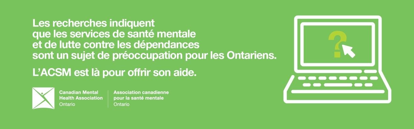 Selon de nouvelles données, les Ontariens sont moins nombreux à demander de l'aide en santé mentale pendant la COVID-19, mais les services aident ceux qui les utilisent
