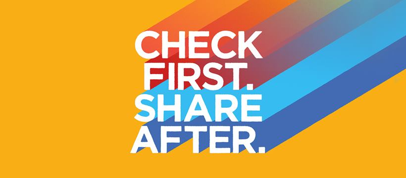 Check first. Share after. MediaSmarts x CMHA Ottawa