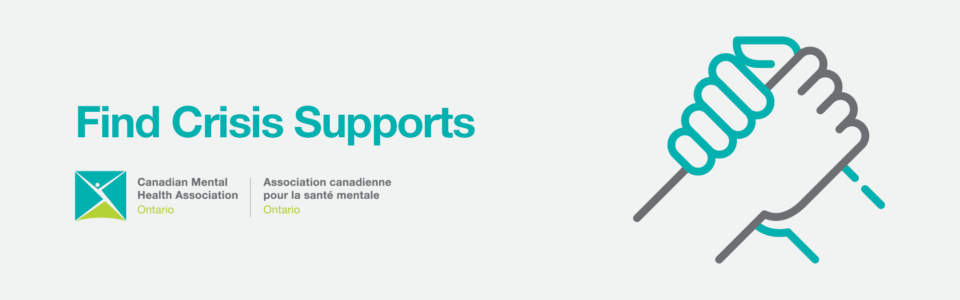 CMHA Ontario Find Crisis Supports