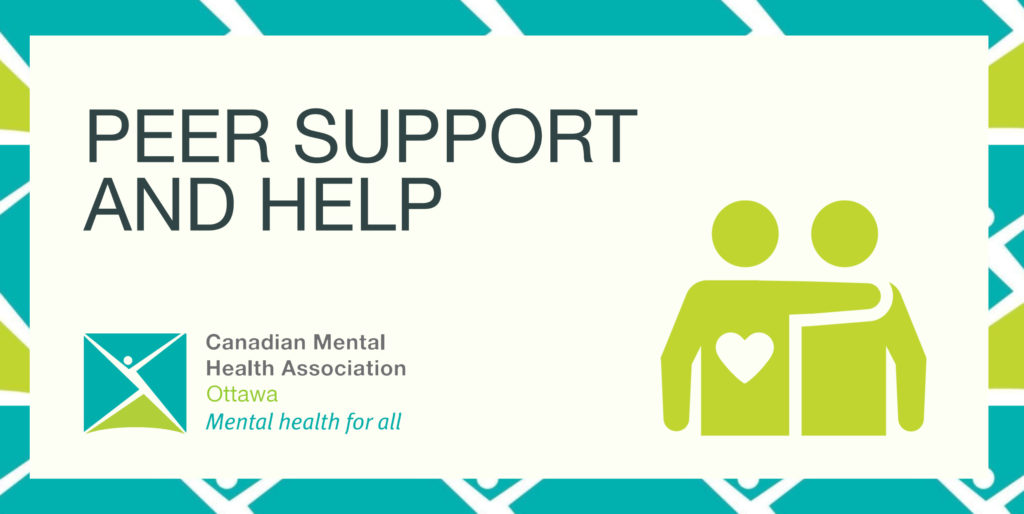Peer support and help -- a friend helps a friend