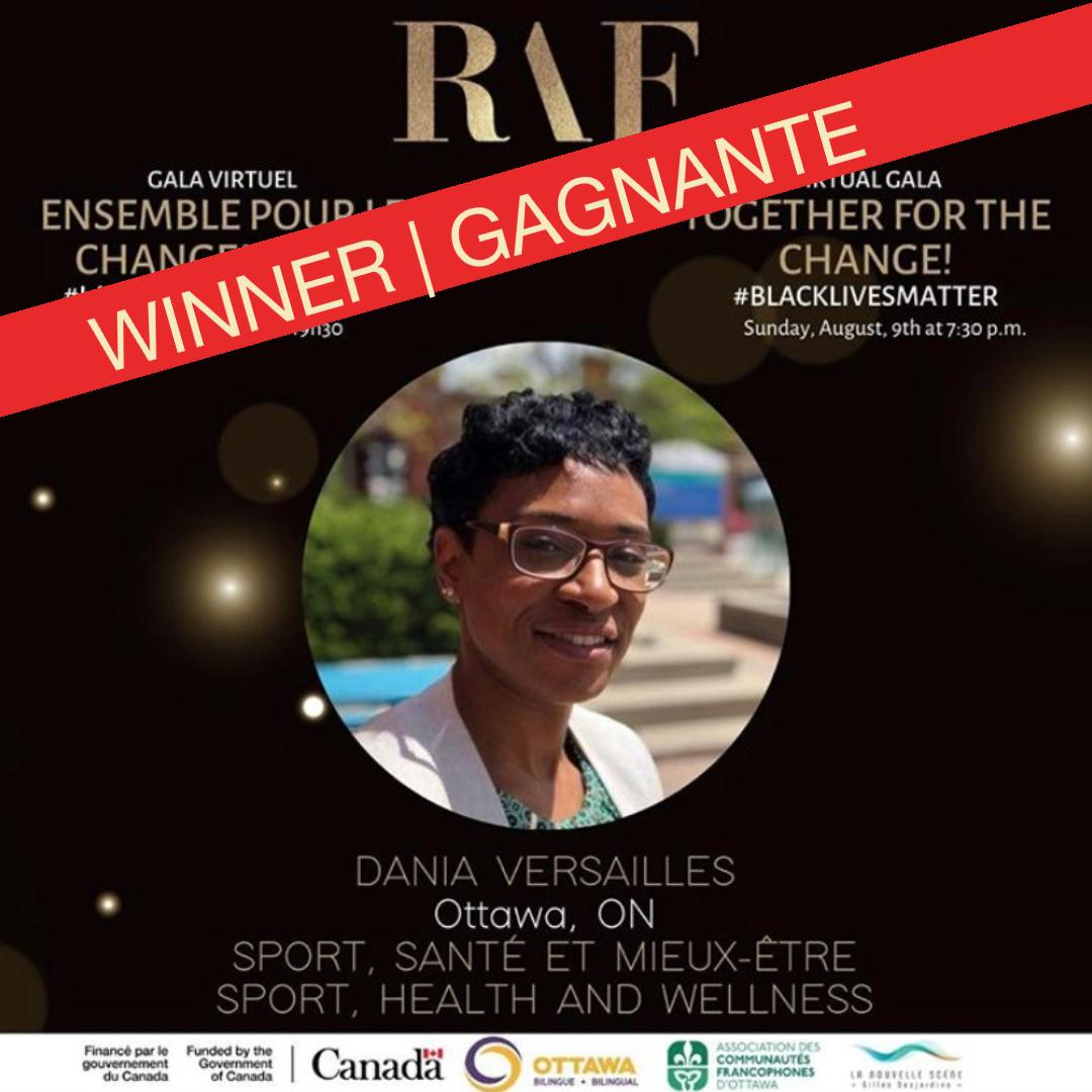 Dania Versailles -- winner | gagnante !