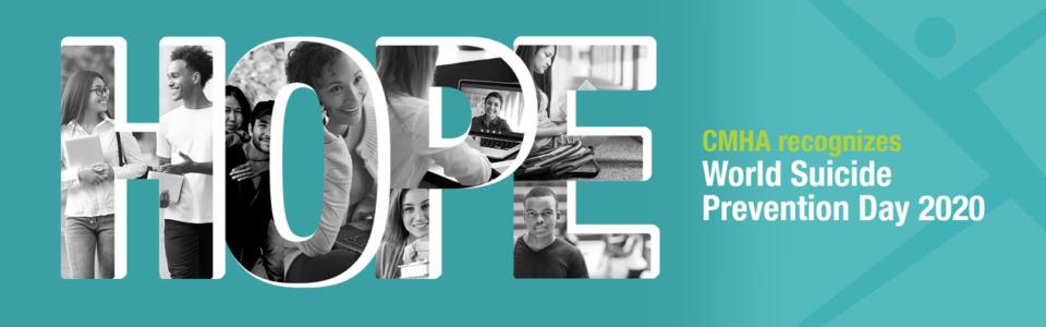 CMHA recognizes World Suicide Prevention Day 2020