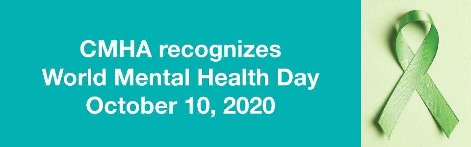 CMHA recognizes World Mental Health Day 2020