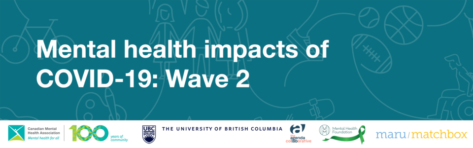 Mental health impacts of COVID-19: Wave 2