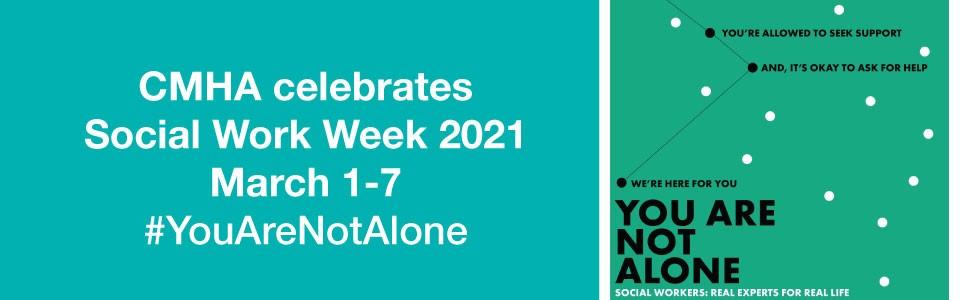 CMHA celebrates Social Work Week 2021