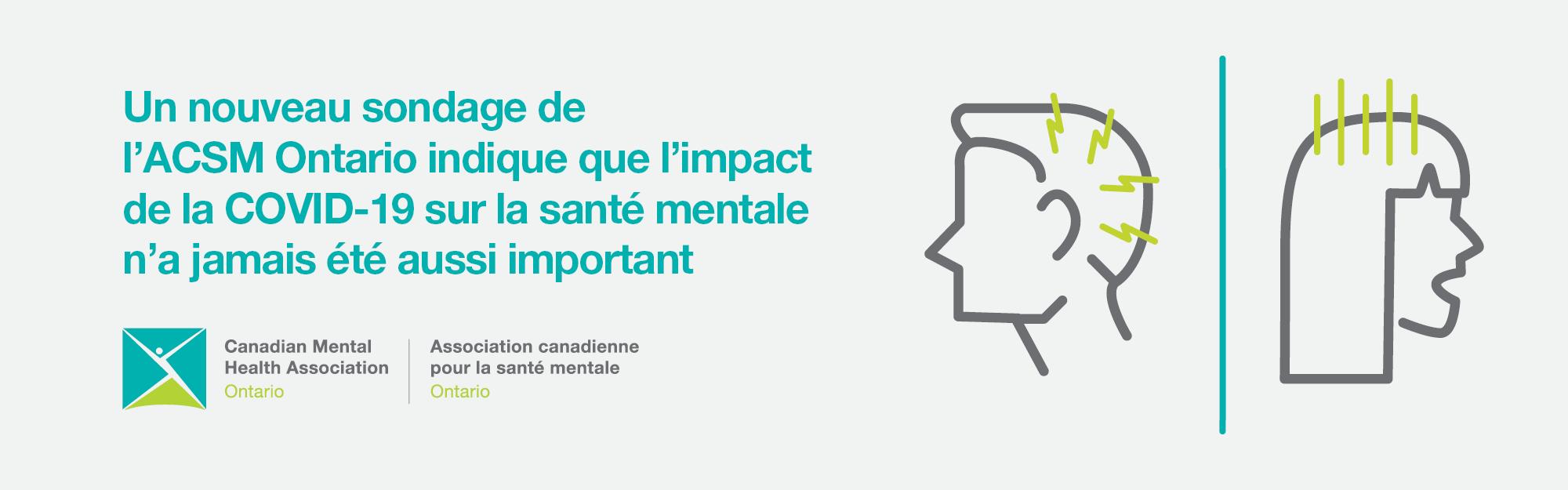 Le troisième sondage de la série de l'ACSM Ontario indique que l'impact de la COVID-19 sur la santé mentale n'a jamais été aussi important