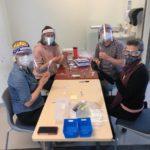 CMHA vax clinic Kim, Ivana, Christy, Joanne